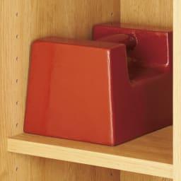 【完成品】扉が選べるオーク材のモダン本棚 板扉 幅120cm 耐荷重約20kgでたわみにくい棚板。