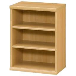 色とサイズが選べるオープン本棚 幅44.5cm高さ60cm (オ)ナチュラル