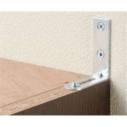 1cmピッチ薄型壁面書棚 奥行19cm 幅82cm 高さ180cm オープン 高さ180cmの商品を単品で使用する場合は安全のため転倒防止金具を取り付けてください。