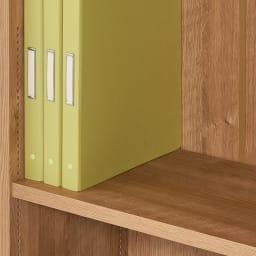 1台で壁いっぱいに本を収納!本好きのための壁面つっぱり本棚 幅オーダー(1cm単位) 本体幅30~45奥行17cm 奥行29.5cmは雑誌やA4ファイルの収納に。内寸奥行27.5cm