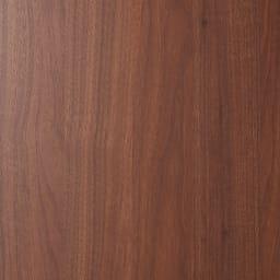 壁面間仕切りワードローブ 棚タイプ・幅80cm (ア)ダークブラウン