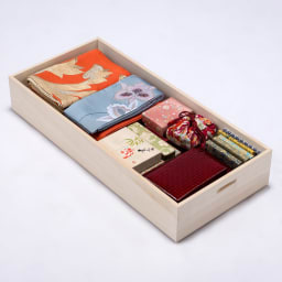 総桐衣装ケース 幅95.5cmタイプ 4段(深4) 深収納には着物だけでなく、和装小物類を収納してもOK