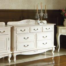 アンティーク調クラシック家具シリーズ チェスト・幅110cm