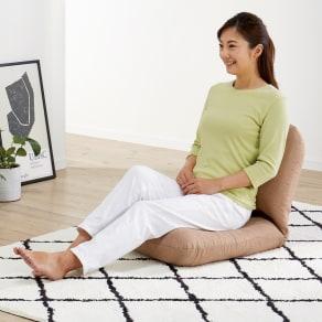 日本製背中を支えるコンパクト美姿勢座椅子 本体 写真