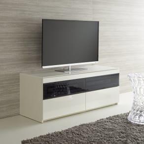パモウナBW-120 輝く光沢のモダンリビングシリーズ テレビ台 幅120cm 写真