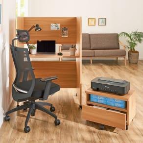 座り心地&機能性◎!オフィスチェアAIR's ヘッドレスト&アーム付き 写真