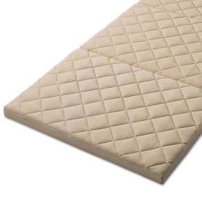 3サイズから選べる!二段ベッド用洗えるカバーの三つ折りマットレス 低反発タイプ 写真