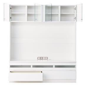 美しくしまうハイクラス壁面収納シリーズ テレビ台 幅155cm 写真
