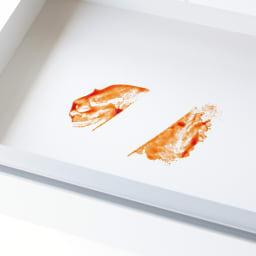 大型レンジ対応ステンレスクリーンキッチン キッチンボード 幅119cm (ア)ホワイトは側面・引き出し内部・棚板にも、すりキズや汚れ、変色に強いクリーンイーゴスを使用。水滴も簡単に拭き取れるので、輪ジミになりにくいです。