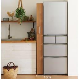 組立不要!52サイズ・3色の156タイプから選べる頑丈すき間ワゴン 幅22奥行55cm 冷蔵庫横の中途半端なすき間にもジャストフィット。