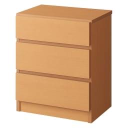 【完成品・国産家具】ベッドルームで大画面シアターシリーズ チェスト 幅45高さ55cm (イ)ナチュラル