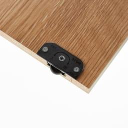 隠せる片引き戸ランドセルラック 幅60cm 引き戸はローラー付きで開閉スムーズです。