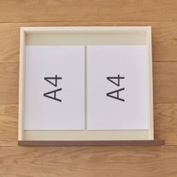 奥行4タイプ選べるデスクシリーズ デスク奥行70cm ■引き出し内寸(3杯付き):幅42.5奥行37.5高さ5.5cm
