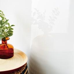 【日本製】引き戸式ミラーワードローブ タワーチェスト 幅57.5cm (エ)前面には光沢感が美しいピュアフィールを使用。お部屋に高級感を演出します。