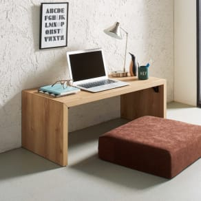 折りたたみできるスマートスタイルテーブル 89×44cm 写真
