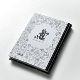 【ディノス限定販売】MOOMIN/ムーミン フルカラー5年日記(連用日記) 名入れあり 裏表紙にはムーミンハウスと仲間たちがさりげなく。