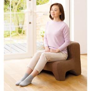 匠の腰楽座椅子プライムシート 写真