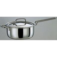IH対応 服部先生のステンレス7層構造鍋「ジオ」 片手鍋径16cm
