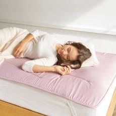 魔法の敷き寝具シリーズ しっかり綿ツイル 敷きマット 写真