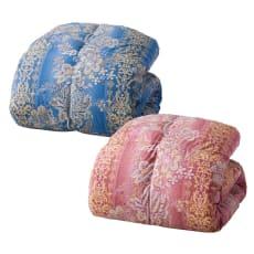 柄任せバーゲン寝具シリーズ 羽毛布団 (レギュラータイプ) シングルロング2枚組