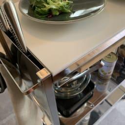 人工大理石天板キッチン作業台 幅48