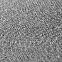 リクライニングソファ1人掛け 素材アップ(ア)グレー 生地ははっ水加工なので、汚れてもサッとひとふきです。