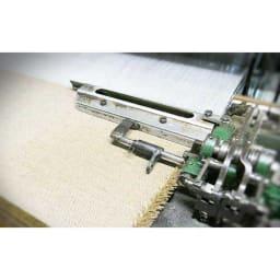 【毛布の老舗 三井毛織】エジプト超長綿やわらか綿毛布 掛け毛布 織り目のすき間を極力減らす独自の技術は、三井品質の土台の一つです