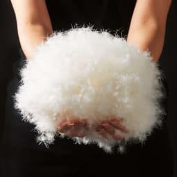 ディノス×西川 特選羽毛掛け布団 レギュラータイプ ダブルロング フランス産ホワイトダックダウンを贅沢に使用