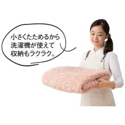 防ダニミックスシャギーラグ 円形・オーバル
