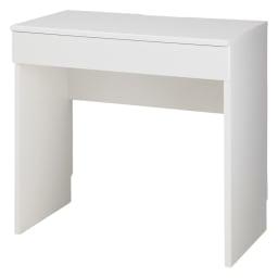 ラインスタイルハイタイプテレビ台シリーズ デスク・幅75cm (イ)ホワイト