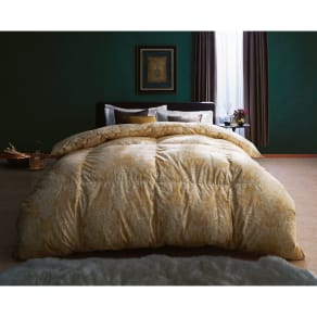シングルロング(最高位ラベル取得ポーランド産マザーグースプレミアム羽毛布団 立体2層掛け布団) 写真