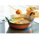 IHで使える銅の天ぷら鍋21cm 写真
