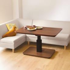 【4長方形・中】120×80cm 高さ自由自在!昇降式ダイニングこたつテーブル