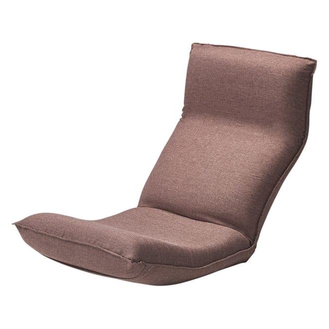 「サイズを選べる」腰にやさしいリラックスチェアII S (ア)ブラウン 独自の内部構造により「人の手で優しく支えられる」感覚の座り心地。芝浦工大と国内の座椅子メーカーが共同研究した『腰に優しく疲れにくい』座椅子。