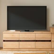 天然木調テレビ台シリーズ ハイタイプテレビ台 幅159.5高さ60cm