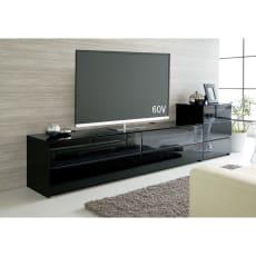 パモウナBW-200 輝く光沢のモダンリビングシリーズ テレビ台 幅200cm