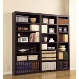 幅サイズオーダー 棚板がっちり書棚 幅31~80cm高さ180cm 写真