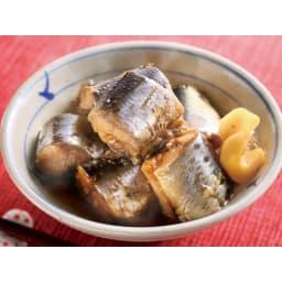 マイコン式電気圧力なべ 容量2.5L 調理例:イワシのしょうが煮(加圧10分)