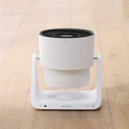 Green Fan C2(グリーンファン シーツー) ファン部分が110度回転し、風の方向を自由に変えられます。室内干しの洗濯物を効率よく乾かし、生乾きのニオイも抑えます。