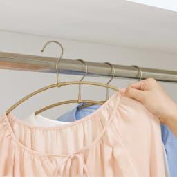 MAWA/マワ 洗濯ハンガー 人体スリムハンガー 乾いたらそのままクローゼットに。細いので収納時もよりスリム。