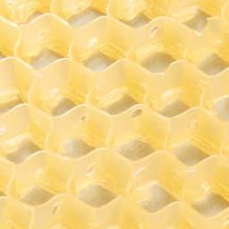 スプラコール ハニカムスポンジ フェイス用・ボディ用セット 蜂の巣みたいな六角形の穴がびっしり。蜂が巣へ蜜をため込むように、1つ1つの穴が汚れをしっかりキャッチします。