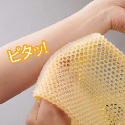 スプラコール ハニカムスポンジ フェイス用・ボディ用セット 女性の肌とも相性のよい極薄のTPU素材を使用。