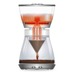 デロンギ ドリップコーヒーメーカー クレシドラ 特別に設計された形状の「5つの給油口」