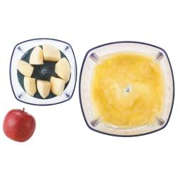 recolte  レコルト カプセルカッターボンヌ かき氷もできます! 【おろす】りんご:約200g(すりおろし)
