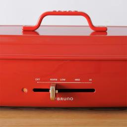 BRUNO/ブルーノ ホットプレート グランデサイズ 保温~250℃まで無段階で調整