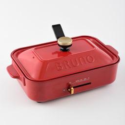 BRUNO/ブルーノ コンパクトホットプレート用ガラスフタ ノブはコンパクトホットプレートの通常のフタにも付け替えが可能
