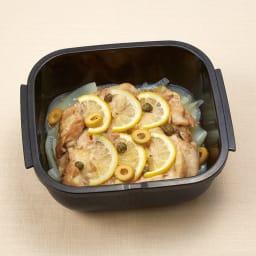 グルラボ プラス IWATANI イワタニ チキンの上にレモンをタップリ。ごちそうメニューも失敗なしです。