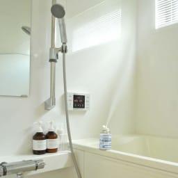 安心空間 カビ阻止ジェット(ホワイトラベル) カビ阻止ジェット1本 お風呂にもOK!安心空間でカビを防いでおけば、カビが発生しづらいので面倒なお掃除の心配もありません。