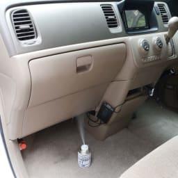 安心空間 カビ阻止ジェット(ホワイトラベル) カビ阻止ジェット1本 ※自動車内部に使用する場合は運転席足下のエアコン吸気口に置き、外気を止めてエアコンを作動させながらご使用ください。