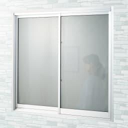 遮熱クールアップ 2枚組 [After] 日中、外から部屋の中が丸見えの窓も、貼るだけで目隠し効果も!
